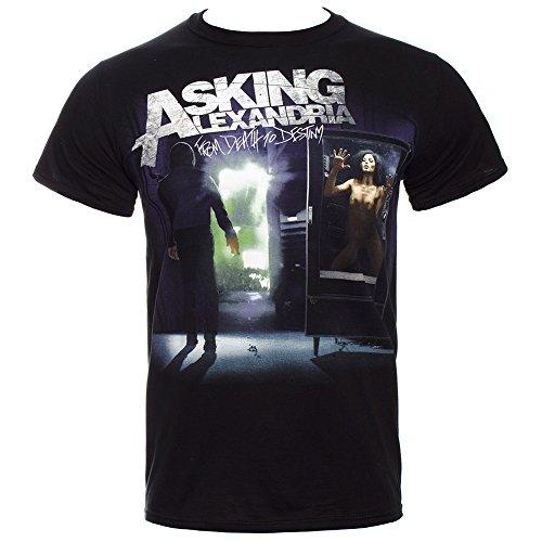 T Shirt Asking Alexandria From Death To Destiny (Nero) - Medium