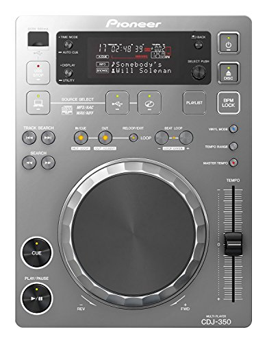 Pioneer DJ CD player Silber CDJ-350-S(japan import)