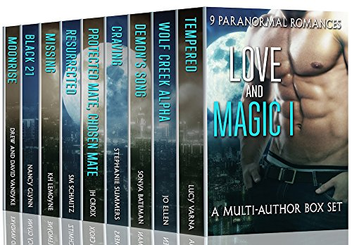 Nine engrossing novels of Paranormal Romance await you!  Love and Magic I: 9 Paranormal Romances: A Multi-Author Box Set