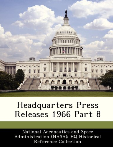 Headquarters Press Releases 1966 Part 8