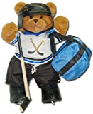 "Hockey Bear 18"" Jointed Sports Bear"