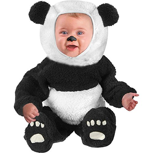 Fun Plus Baby-girls Infant Panda Bear Halloween Costume