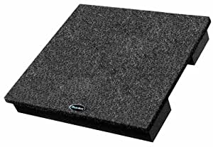 Auralex SubDude Subwoofer Isolation Riser; 15x15x3-inch SubDude in Charcoal, Single