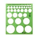 Westcott Large and Small Circles Template