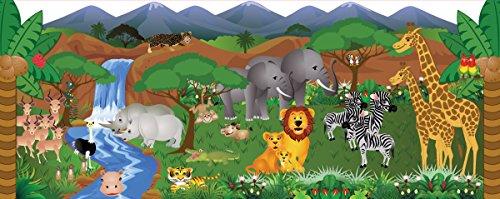 Mona Melisa Designs Baby Crib Mural, Jungle