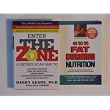 The Zone Diet (2 Book Set:, Enter The Zone Dietary Road Map, Fat Burning Nutrition)