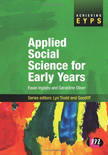 Applied Social Science for Early Years (Achieving EYPS)