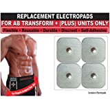512LRtZUOcL. SL160  Beautyko Self Adhesive Replacement Gel Toning Pads (Set Of 4) For Ab Transform Plus Abdominal Toning Belt (FDA Cleared  As Seen On Tv)
