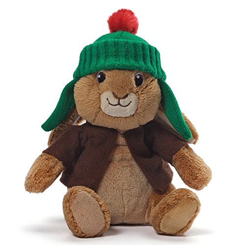 Gund 4048622 Benjamin Bunny Sound Stuffed Animal Plush - 1