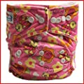 Babyland One Size Fits All Patterned Cloth Nappy - Single