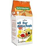 Seitenbacher Muesli #3 For Active People, Eighteen Tasty Ingredients, 16-Ounce Bags (Pack of 6)