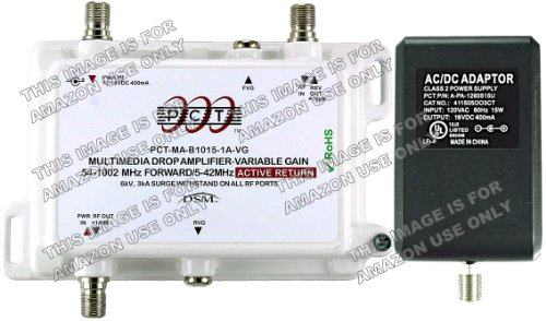 Check Out This PCT 1-Port Variable Gain Signal Amplifier With Active Return