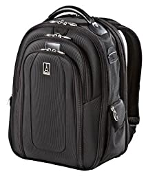 Travelpro Luggage Crew 9 Business Backpack, Black, One Size