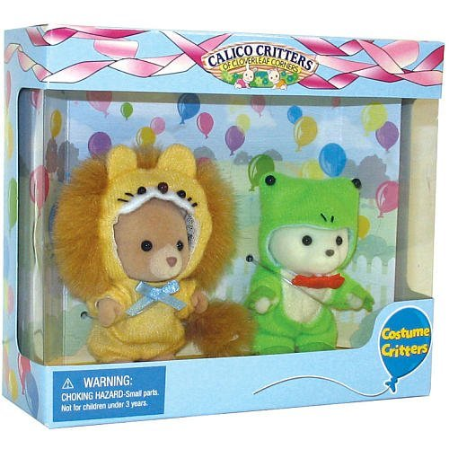 Buy Low Price International Playthings Calico Critters Costume Critters –  Frog and Lion Figure (B001D0FMMW)