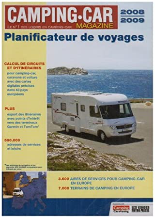 Camping Car - Planificateur de voyage - Edition 2008-2009
