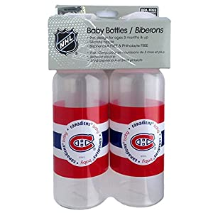 Montreal Canadiens Baby 2 Pack Baby Bottle Set