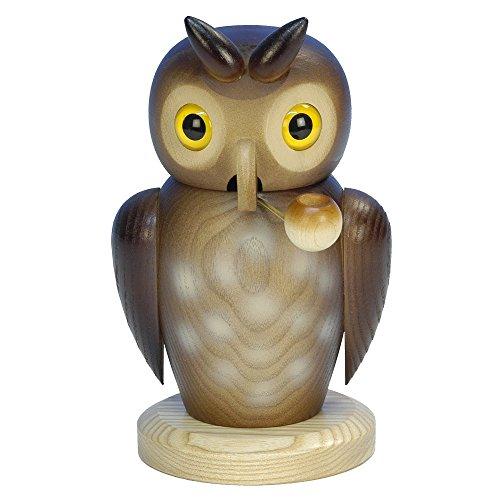 "1-176 – Christian Ulbricht Incense Burner – Owl – 7″""H x 4.25″""W x 4.5″""D"