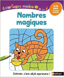 nombres magiques ; grande section ; 5-6 ans: Stephanie Grison