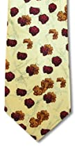 Infectious Awareables Mad Cow Necktie #3900 Yellow/Red