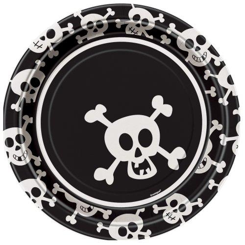 Skulls Dinner Plates, 8ct