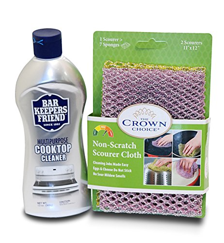bar-keepers-friend-cooktop-cleaner-kit-liquid-13-oz-and-non-scratch-scouring-dishcloth-multipurpose-