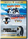 Happy Feet/Happy Feet 2/March of the Penguins (DVD) (Triple Feature)