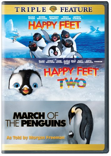 Happy Feet/Happy Feet 2/March of the Penguins (DVD) (Triple Feature) (Happy Feet Dvd compare prices)
