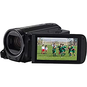 Canon VIXIA HF R72 Full HD Camcorder Bundle, includes: 64GB SDXC Memory Card, Card Reader, Spare Battery and more...