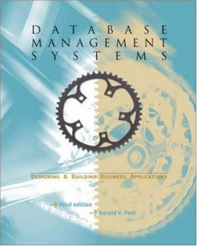 Database Management Systems-Designing & Building Business Applications