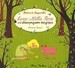Lune-milla rose et champignon magique