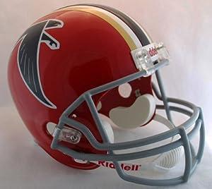 Atlanta Falcons 1966-69 Throwback Riddell Deluxe Replica Helmet by Caseys