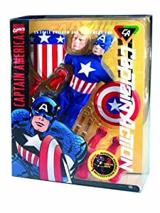 Round 2 Captain Action Deluxe Captain America Costume Set