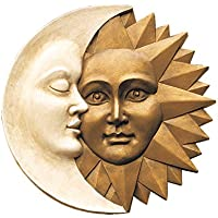 Harmony Sun and Moon Wall Sculpture