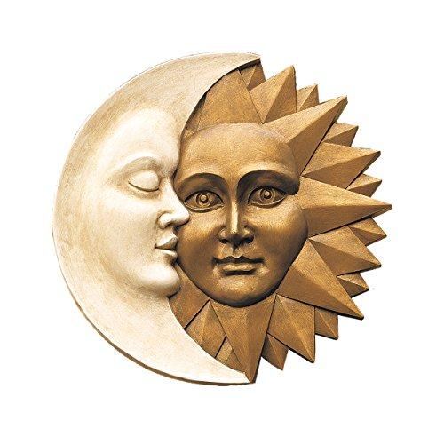 Design Toscano Celestial Harmony: Greenman Wall Sculpture