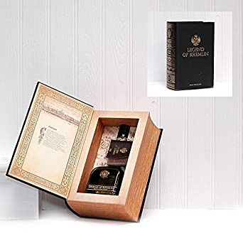 700ml legend of kremlin russian vodka de luxe book gift for Luxury gift ideas for him