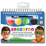 Snazaroo Monsters and Hero's Step-by-Step Face Painting Set