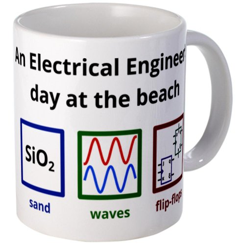 Cafepress An Electrical Engineer'S Day At The Beach Mug - Standard
