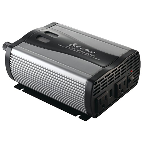 Cobra Cpi 880 800 Watt 12 Volt Dc To 120 Volt Ac Power Inverter With 5 Volt Usb Output
