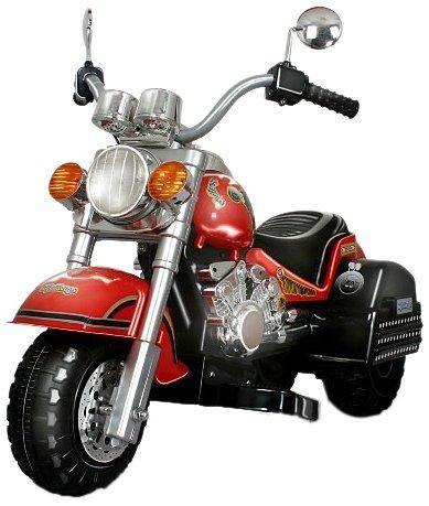 Buy Discount Merske Harley Style Chopper Style Motorcycle, Red