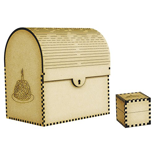 Brain With A Candle Treasure Chest / Jewellery Box (TC00005285)