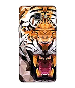Chnno 3d cartoon Printed Back Cover For Samsung Galaxy A5 (2016)