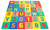 Children Alphabet Letters and Counting Numbers (A-Z, 0-9) Soft Mat - Each Tile: 12