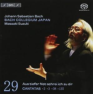 Bach: Cantatas, Vol 29 (BWV 2, 3, 38, 135) /Bach Collegium Japan * Suzuki
