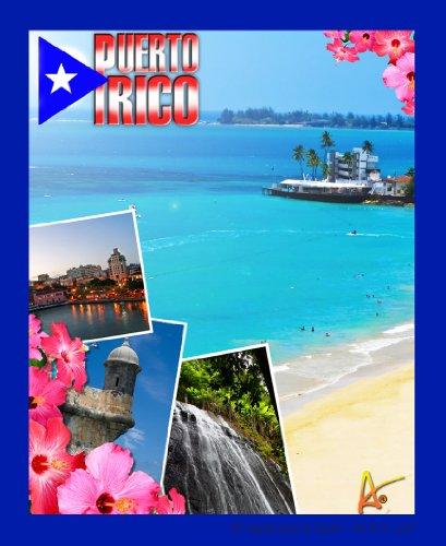 Best Ultimate Iron-On Puerto Rico Travel Collectable Souvenir Patch - Destination Photo Souvenir Postcard Type Quality Photos Graphics - Caribbean - Puerto Rico General Collage front-236331