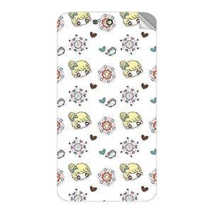 Garmor Designer Mobile Skin Sticker For Panasonic Eluga U - Mobile Sticker