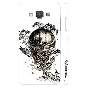 Samsung Galaxy E7 Skull 5 designer mobile hard shell case by Enthopia