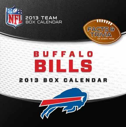 Perfect Timing - Turner 2013 Buffalo Bills Box Calendar (8051095) at Amazon.com