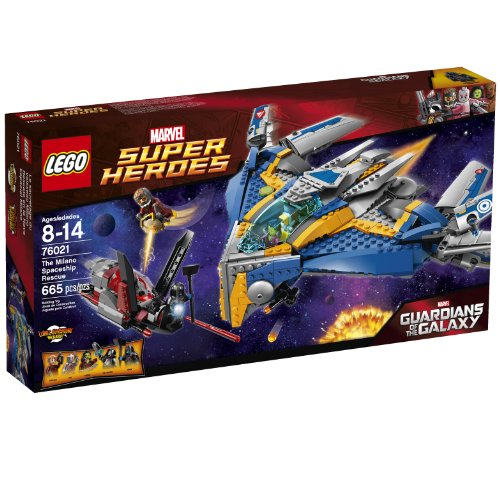 New LEGO Superheroes Milano Spaceship Building