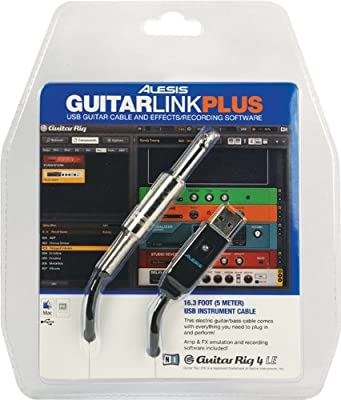 Alesis AudioLink Series GuitarLink Plus Audio Interface by Alesis
