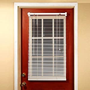 Magne blind aluminum magnetic mini blind for Kitchen back door with window